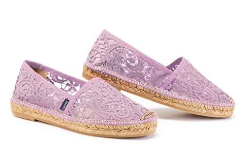 Amazon.com: VISCATA Garraf Crochet - Zapatos planos para ...