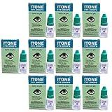 10 x Itone Ayurvedic Herbal Eye Drops Natural Allergies 10ml- Pack of 10