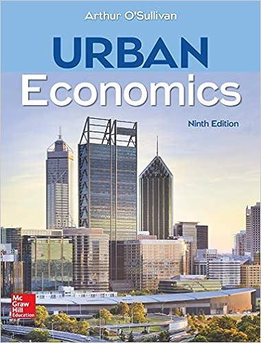 Urban Economics O Sullivan Arthur 9780078021787 Amazon Com Books