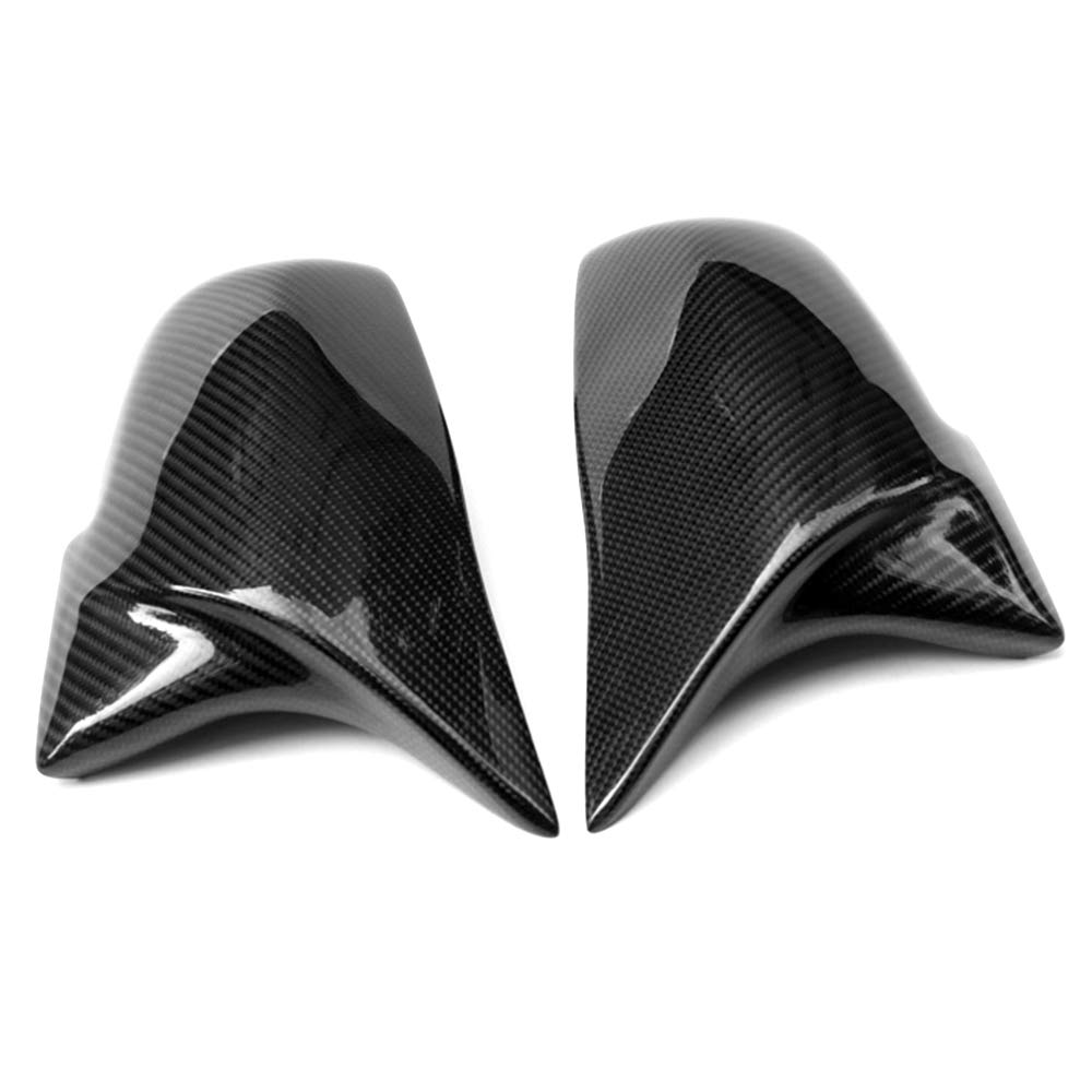 X1 Series E84 2013-2015 M2 Carbon Fiber JMY Replacement Side Mirror Cover Caps fits BMW 3 Series F30 F34 1 Series F20 2 Series F22 4 Series F32 F33 F36 F87