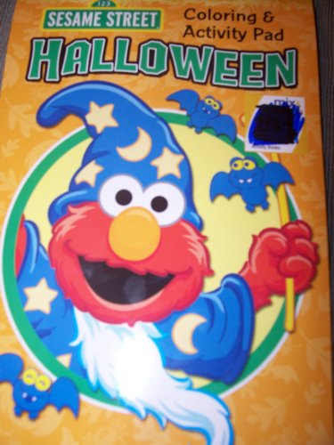 Sesame Street Halloween (Coloring & Activity Pad) -