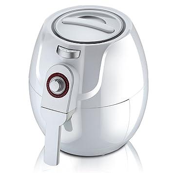 VUKUB Freidora De Aire para Comida Frita Saludable Freidora Eléctrica DE 3, 2 litros Sin Capacidad Máquina para Freír Patatas Fritas De Gran Capacidad: ...