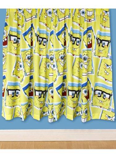 Amazon.com: Character World 72-inch SpongeBob Squarepants Framed ...