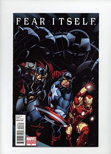 FEAR ITSELF #6 | Marvel | November 2011 | Vol 1 | Ed McGuinness Comics For Comics Variant Cover