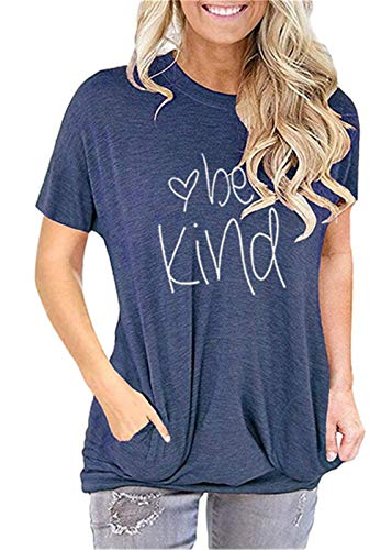 ONLYSHE Womens Crewneck Sweatshirt Casual Loose Fitting Tops Long Sleeve T Shirt