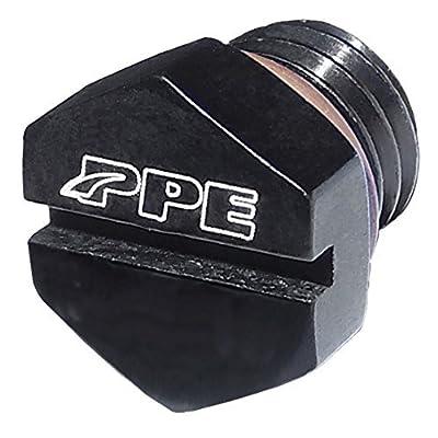 PPE AIR BLEEDER SCREW FOR FUEL FILTER HOUSING 2001 2002 2003 2004 2005 2006 2007 2008 2009 2010 2011 2012 2013 2014 2015 2016 CHEVY GMC 6.6L DURAMAX DIESEL BLACK - 5130811000: Automotive