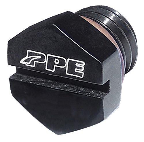 Bleed Screw - PPE AIR BLEEDER SCREW FOR FUEL FILTER HOUSING 2001 2002 2003 2004 2005 2006 2007 2008 2009 2010 2011 2012 2013 2014 2015 2016 CHEVY GMC 6.6L DURAMAX DIESEL BLACK - 5130811000
