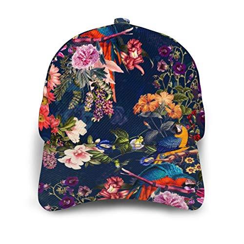 Liliylove Gorra de béisbol Ajustable con diseño de Flores y ...