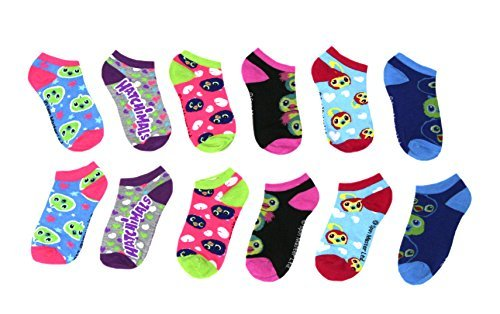 Girls Hatchimals 6 Pack Low Cut Socks (Multi 2)