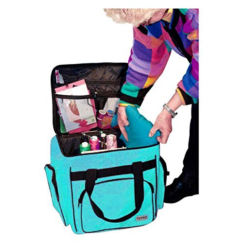 Tutto Turquoise Serger/Accessory Bag (Bag Serger)