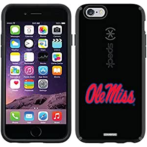 Coveroo Mississippi Ole Miss Design Phone Case for iPhone 6 - Retail Packaging - Black