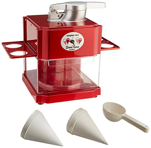 Waring Pro SCM100FR Snow Cone Maker (Certified Refurbished) by Waring