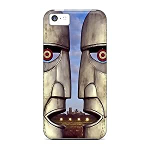 Perfect Hard Phone Covers For Iphone 5c With Unique Design Realistic Pink Floyd Series KennethKaczmarek