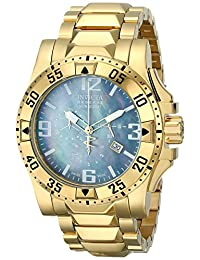 Invicta Men's 6256 Reserve Collection Chronograph 18k Gold-Plated Stainless Steel Watch