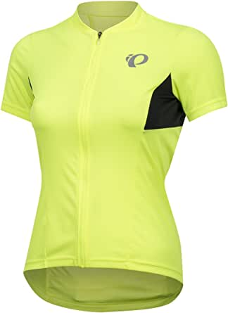 PEARL IZUMI W Select Pursuit ss Jersey, Screaming Pink/Black, Large
