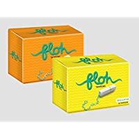 Floh Regular + Super Tampons Pack of 2 (20 pieces)