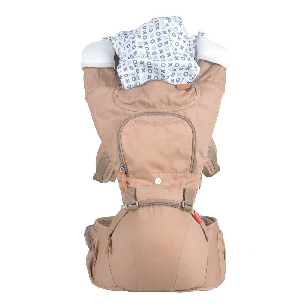 Babytrage, Atmungsaktive Riemen Ergonomische 100% Baumwolle Großraumlagerung 11 Tragende Positionen Sicher