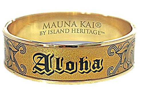 Gold Bracelets Hawaiian - HAWAIIAN