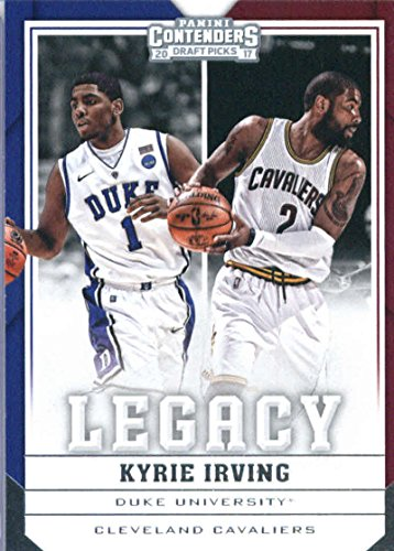 - 2017-18 Panini Contenders Drafts Picks Legacy #24 Kyrie Irving Cleveland Cavaliers/Duke Blue Devils Basketball Card