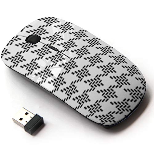 Ergonomic Optical 2.4G Wireless Mouse - Typical Arabic Headgear Scraf
