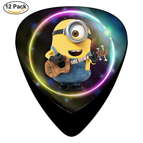 Minion Picks 12-Pack Guitar Picks Unique designs Music Gifts
