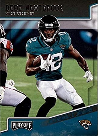 cce4a40f0 2018 Panini Playoff  93 Dede Westbrook Jacksonville Jaguars NFL Football  Trading Card