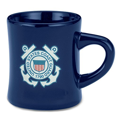 Guard Coast Mug (United States Coast Guard Navy Military Stoneware Coffee Diner Mug by Cornell)