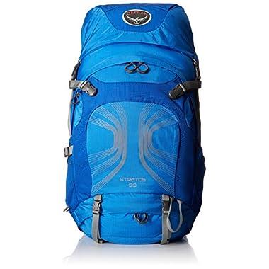 Osprey Men's Stratos 50 Litres Backpacks, Harbor Blue, Medium/Large