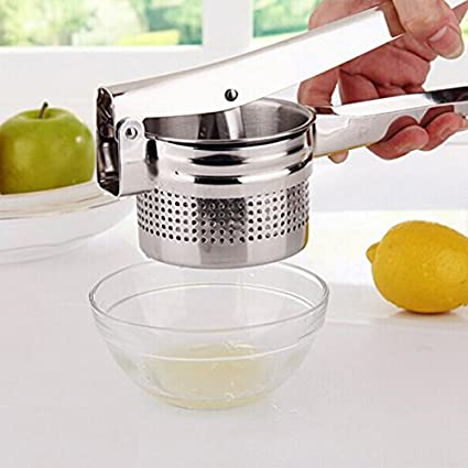 Amazon.com : Stainless Steel Potato Ricer Manual Juicer Vegetable Fruit Squeezer BML Brand // Acero inoxidable patata arrocera exprimidor manual de la ...