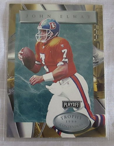 JOH ELWAY 1996 PLAYOFF NFL COLLECTIBLE TRADING CARD #7 1996
