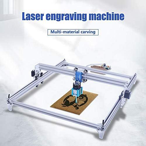 marquage dimage de logo dimprimante de DIY 50 * 40cm 10000MW Imprimante de bureau de 2 axes pour le plastique en bois en cuir Machine de gravure laser bois cnc routeur