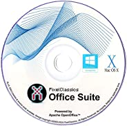 Office Suite Software 2021 Microsoft Word 2019 2020 2016 2013 2010 2007 365 Compatible CD Powered by Apache Op