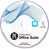 Office Suite Software 2020 Microsoft Word 2019 2016 2013 2010 2007 365 Compatible CD Powered by Apache OpenOffice for PC…