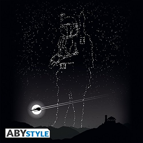 Camiseta Black Star Stars Mc Fett Wars Boba fIYrI0q