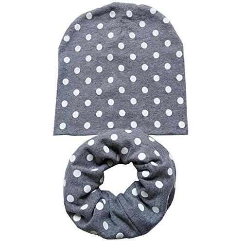 New Spring Autumn Winter Girls Hat Set Crochet Children Hats Girl Boy -