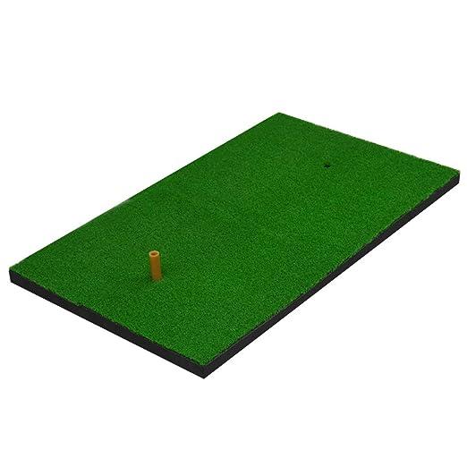 Hyzb Golf Mat Golf Club Mat Swing Práctica Mat: Amazon.es ...