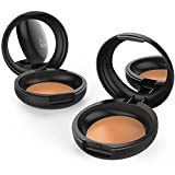 xtava Camouflage Cream Concealer with SPF 15 - Intensely Pigmented for Full Coverage - Natural Finish Formula for Flawless Results - Buildable and Blendable - Cruelty Free Makeup (Caramel)