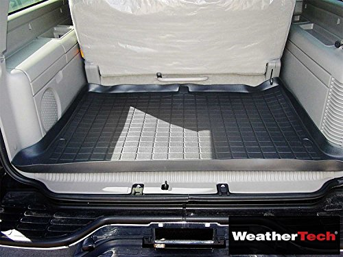 WeatherTech Cargo Liner Black Behind 3rd Seat - Compatible For GMC Yukon XL 1500-2000 2001 2002 2003 2004 2005 2006 | 00 01 02 03 04 05 06 - Seat 3rd 2000 Behind