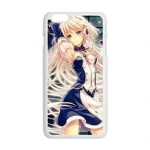 Cartoon Anime Cute White Phone Case for iPhone6 plus