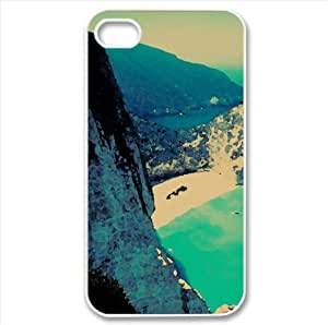 Navagio Bay, Greece Watercolor style Cover iPhone 4 and 4S Case (Greece Watercolor style Cover iPhone 4 and 4S Case)
