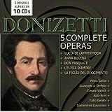 Donizetti / 5 Complete Operas