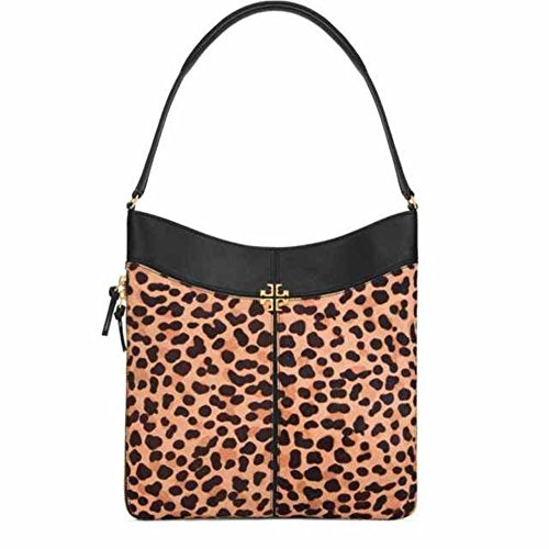 Burch Bag Leopard Black Hobo Ivy Tory BaCdqwB