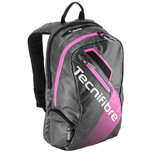 Tecnifibre-Women`s Endurance Tennis Backpack Black and Pink-(3490150177566)