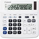 Canon TX220TSII Desktop Calculator 12-Digit White