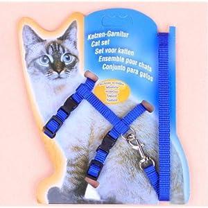 Pet Cat Harness Leash Nylon Set (Small)