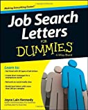 job search letters for dummies by joyce lain kennedy 2013 07 29