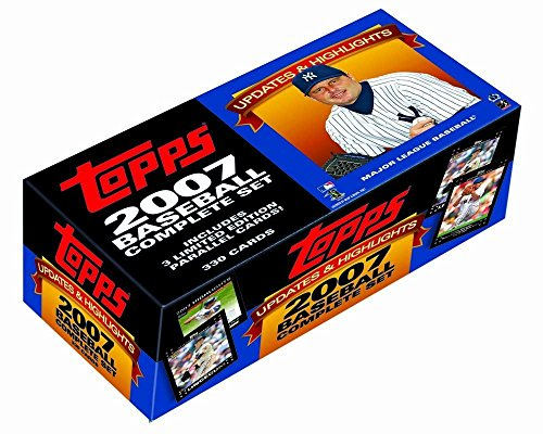 2007 Topps Updates And Highlights Factory Sets