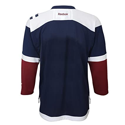 556263b8a03 Amazon.com   Reebok Colorado Avalanche Navy Alternate Premier Jersey ...