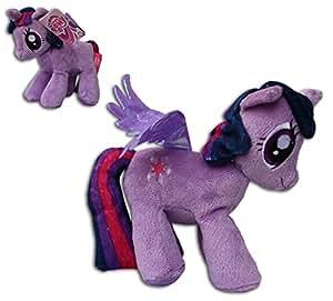 Twilight Sparkle My Little Pony Violeta 20cm Muñeco Peluche Mascota Unicornio Mi Pequeño Poni Caballo TV Serie