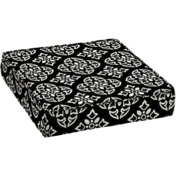 Better homes and gardens outdoor patio deep seat bottom cushion with welt garden for Better homes and gardens deep seat cushion